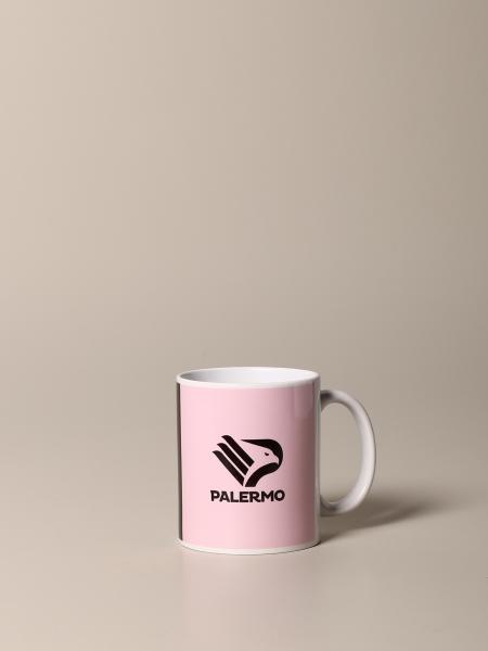 Tazza rosa nero con logo