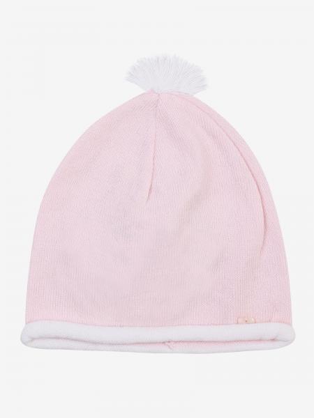 Cappello Emporio Armani con pompon e logo
