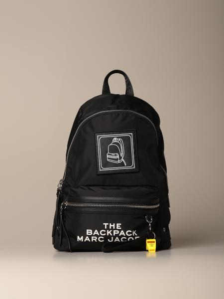 Marc Jacobs backpack in canvas with big logo