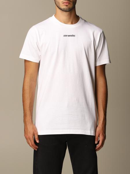 Off White T-shirt with printed arrows