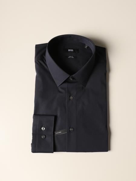 Boss shirt in slim fit cotton