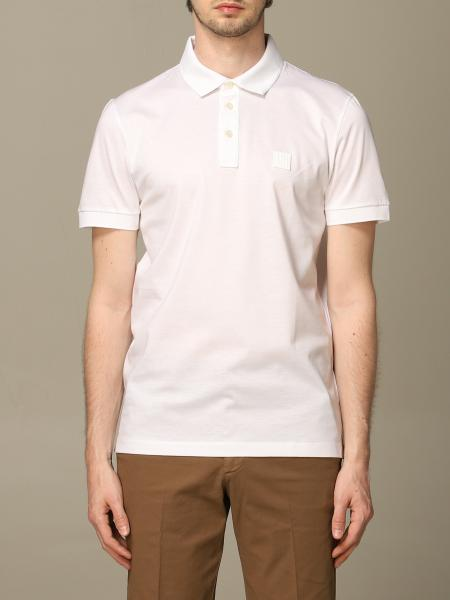 Boss short-sleeved polo shirt with logo