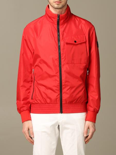 Boss jacket with nylon zip