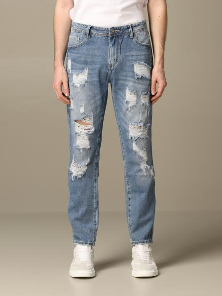 Alessandro Dell'acqua denim jeans with breaks