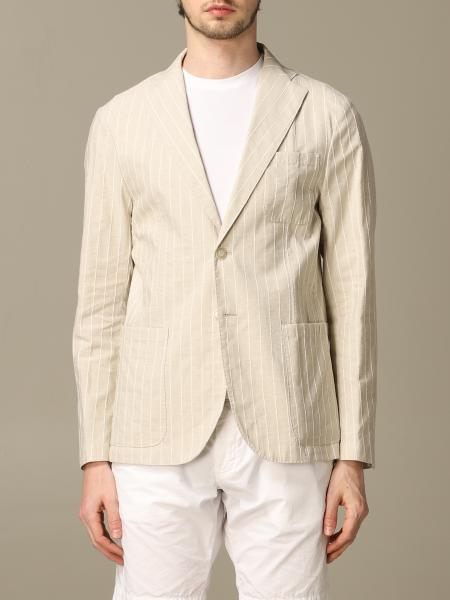 Havana & Co. striped cotton and linen jacket