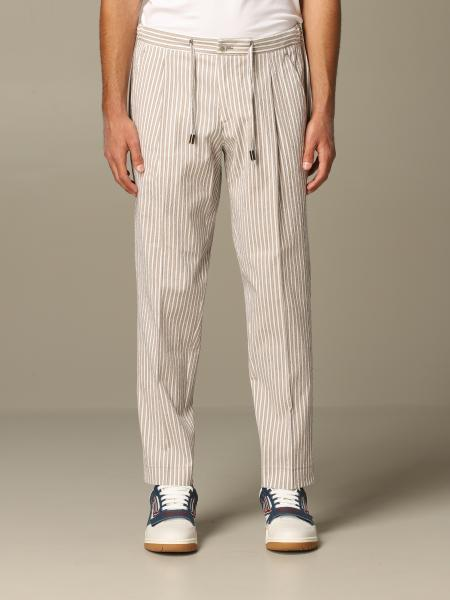Havana & Co. striped trousers with drawstring