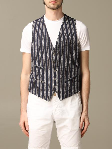 Havana & Co. striped cotton vest
