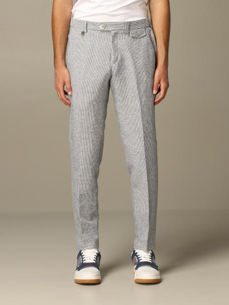 Havana & Co. trousers with micro stripes