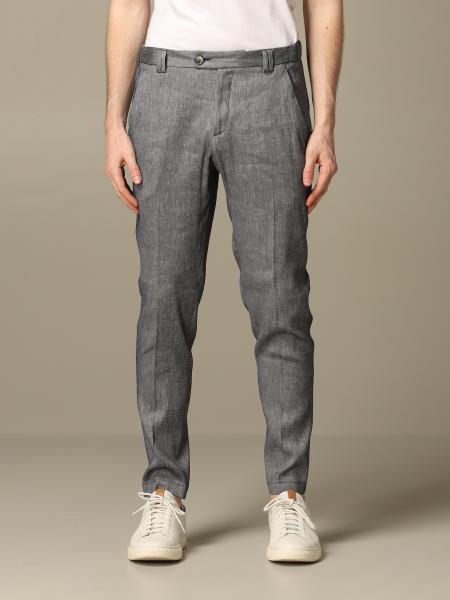 Pantalone Alessandro Dell'acqua in misto lino