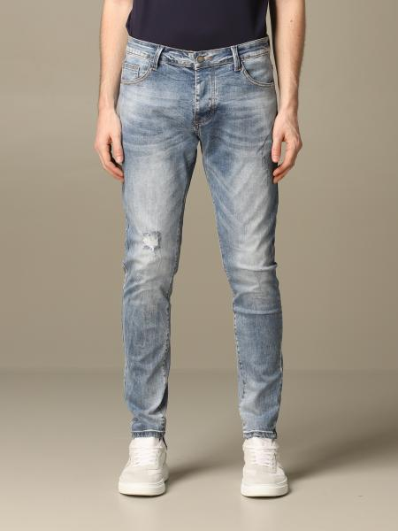 Alessandro Dell'acqua jeans in used denim