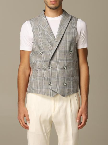 Alessandro Dell'acqua double breasted vest