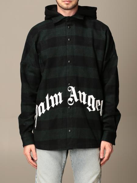 Palm Angels sports jacket in checked cotton blend