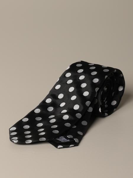 Cravatta Alessandro Dell'acqua a macro pois