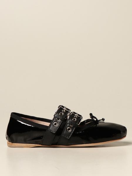 Flat shoes women Miu Miu