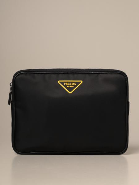 Shoulder bag men Prada