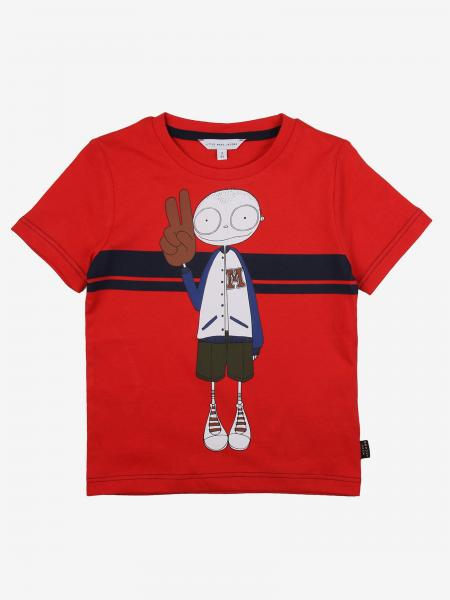 T-shirt Little Marc Jacobs con stampa