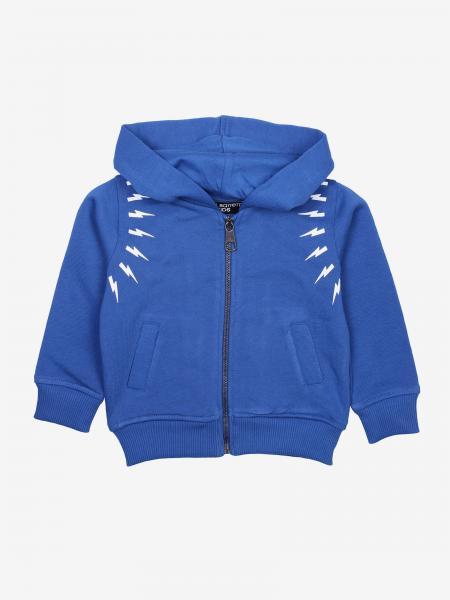 Neil Barrett sweatshirt with hood and zip