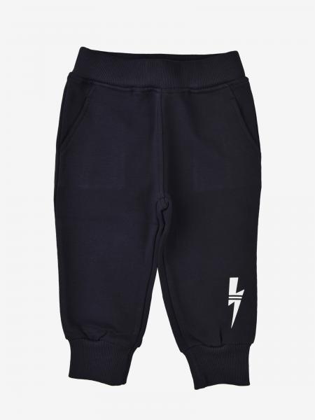 Neil Barrett jogging trousers with lightning