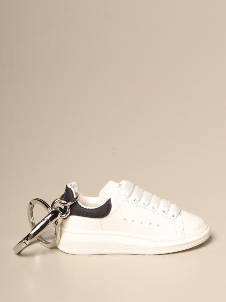 Alexander McQueen keychain in the shape of sneakers