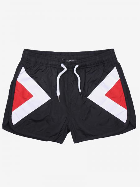 Neil Barrett swimsuit with contrasting bands