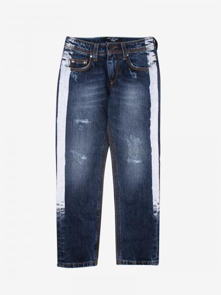Neil Barrett jeans with printed bands