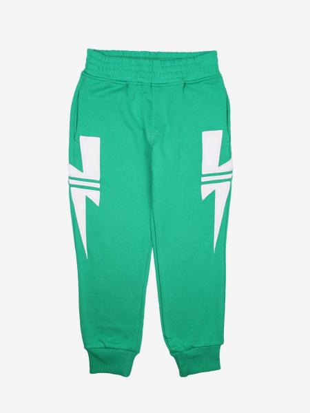 Neil Barrett jogging trousers with bolts of lightning