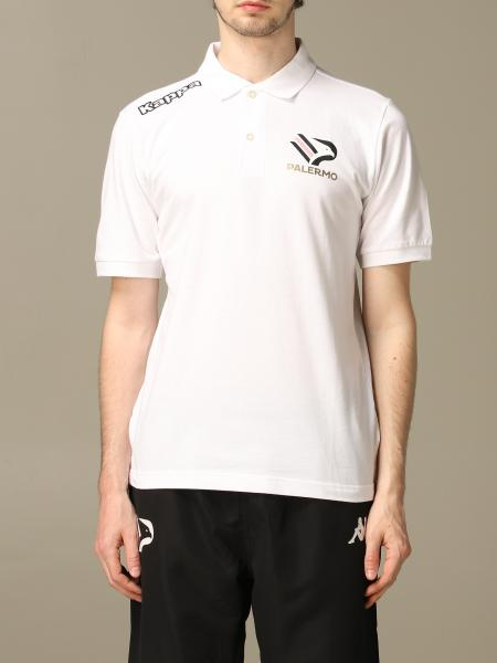 Palermo short-sleeved polo shirt with eagle emblem