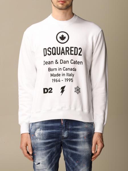 Sweatshirt herren Dsquared2