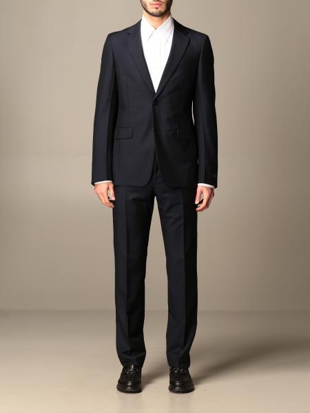 Classic Prada single-breasted suit