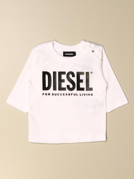 Diesel cotton t-shirt with logo print