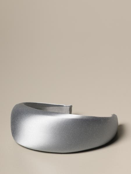Prada rounded satin headband
