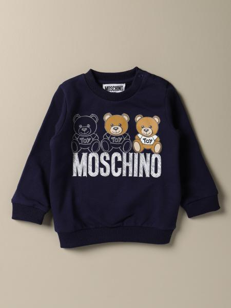 Sweat Moschino Baby avec logo Teddy