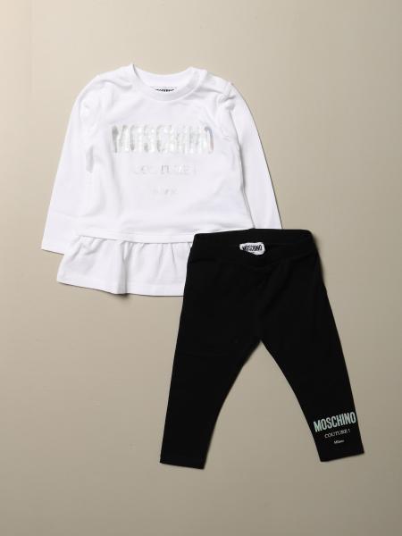 Completo maglia + leggings Moschino Baby