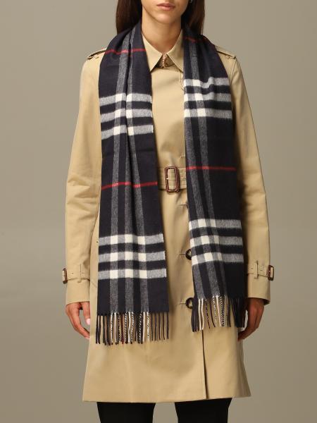 Burberry pure cashmere check scarf