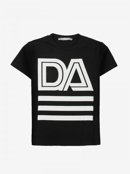 T-shirt Daniele Alessandrini con maxi stampa