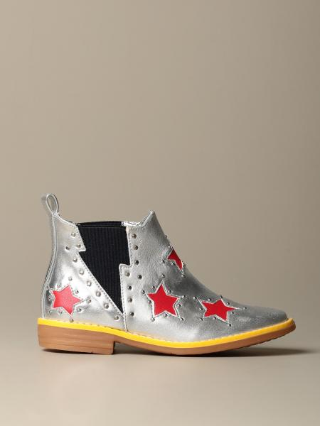 Stella McCartney Texan ankle boot with all-over stars