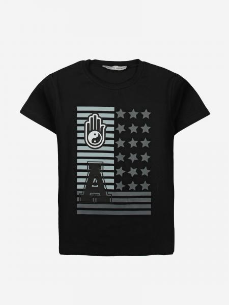 T-shirt Daniele Alessandrini con stampa