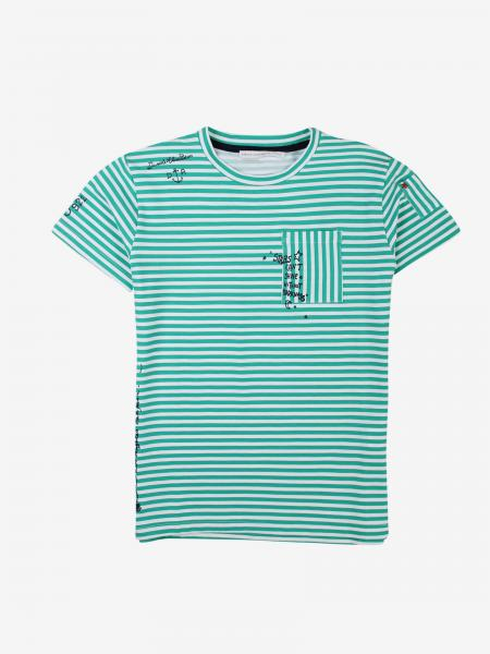 Daniele Alessandrini micro-striped t-shirt