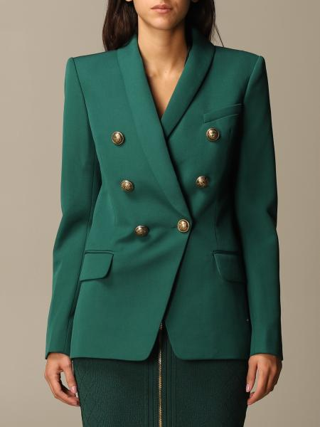 Structured double-breasted Balmain blazer