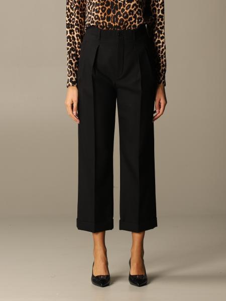 Saint Laurent women: Classic Saint Laurent cropped trousers