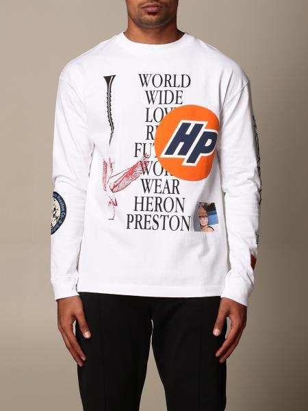 Heron Preston: T-shirt Heron Preston con multi stampe