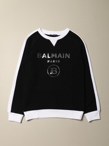 Balmain sweatshirt with two-tone effect logo