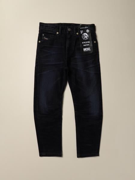 Jeans Diesel carrot fit in denim