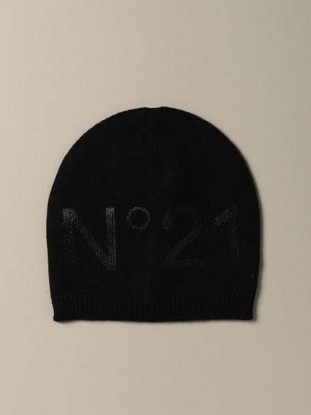 Cappello N° 21 in misto lana con logo