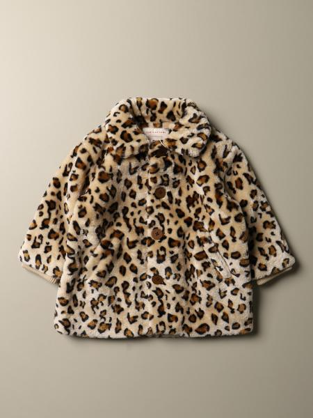 Cappotto Tiny Cottons a fantasia animalier