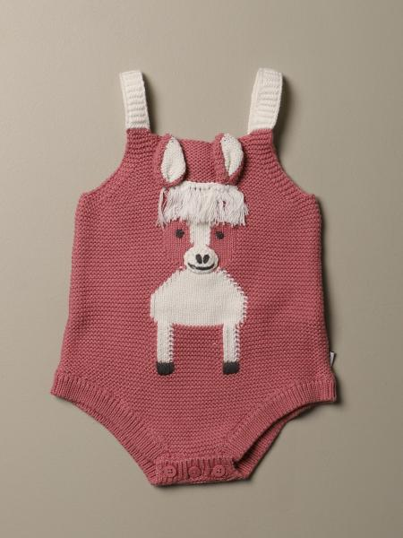 Stella McCartney body in cotton and wool with donkey