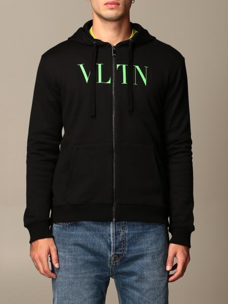 Valentino cotton hoodie and VLTN logo