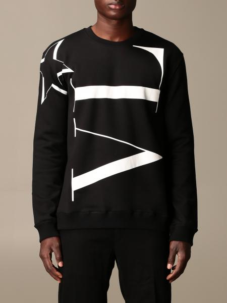 Valentino crewneck sweatshirt in cotton with VLTN logo
