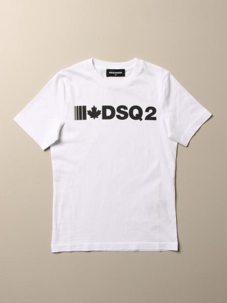 Dsquared2 Junior T-shirt in cotton with DSQ2 logo