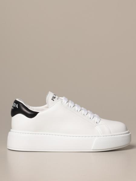 Prada sneakers in leather with logo